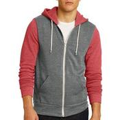 Colorblock Rocky Eco Fleece Zip Hoodie