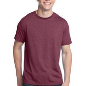 Young Mens Tri Blend Crewneck Tee