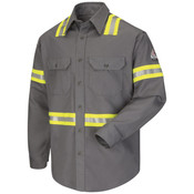 SLDT Enhanced Vis Long Sleeve - EXCEL FR® ComforTouch® - 7 oz.