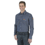 FR12127 Denim Western Shirt
