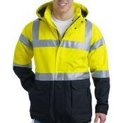 Ansi 107 Class 3 Safety Heavyweight Parka