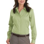 Ladies Nailhead Non Iron Shirt