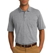 Core Blend Jersey Knit Pocket Polo